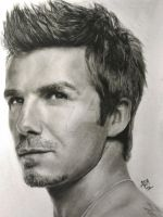 David Beckham drawing by analuizantunes