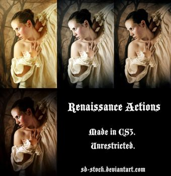Renaissance Actions by sd-stock