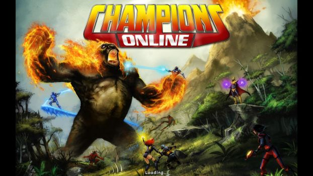 Champions Online Qwyjibo Load Screen by AtlasTheSahuagin