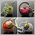 More yarn baskets by CatsWire