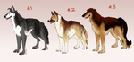 DTA/Point/Paypal Canine Adopts [CLOSED] by JatoWhitz