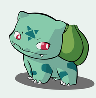 PKMN - Vinam, my Bulbasaur by Fluna