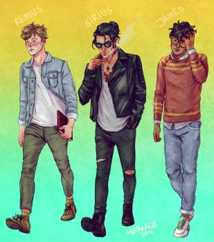 Marauders by upthehillart