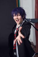 Ao no Exorcist: backstage 2 by 0zick