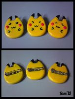 pikachu brooch /pin FOR SALE by dsam4