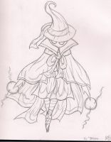 Black Mage - Vy'Delose by CandleGhost