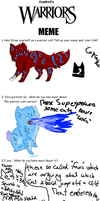 Warrior cats Meme by Sparkylovecupcakes
