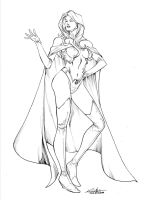 White Queen - july30th2014 by SpiderGuile