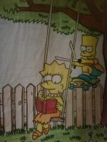 bart and lisa by anglerock
