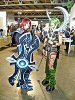 Infiltrator Irelia and Dryad Soraka by JamieCool