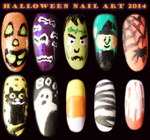 Halloween Nail Art by Cpr-Covet
