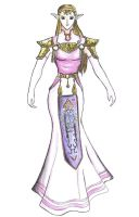 Princess Zelda by CrimsonVVings
