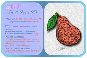 One Piece Devil Fruit ID by kekemango