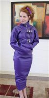Purple str8 jacket dress by bound-nicole-babe78