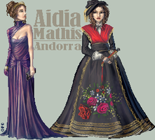 -:Miss Andorra - Round 3:- by FionaCreates