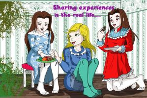 Sharing experiences is the real life by piojote