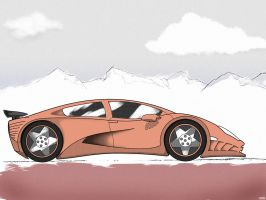 Sports Car, coloured by gkn112