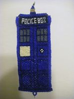 TARDIS Bracelet ~ Completed! by StarDapple