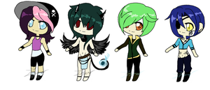 Mixed Adopts.:Trade,Auction and Points:. by itsmar-Adopts