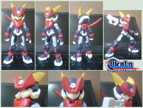 Kotobukiya Grey custom figure by Gregarlink10