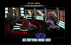 Swiftwind bridge crew by S0LARBABY