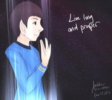 Live long and prosper (30 min chal Nimoy Tribute) by JonFawkes