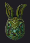 Rabbit mask by Lijj