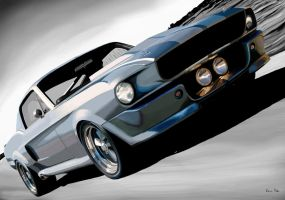 Eleanor Ford Mustang by DS1985