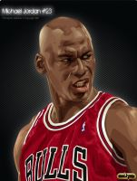 Michael Jordan vector by diplines