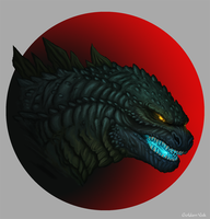 Godzilla  In Color! by GoldenYak