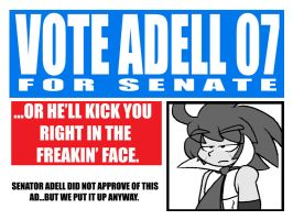 Adell For Senate 07 by EnterPraiz