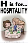 DapperKins - H is for HOSPITALITY by DeeplyDapper