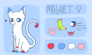 *New* Magnet Reference sheet! by Magnet-Crayon