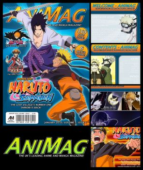 AniMag Magazine by MoonfaceDesigns