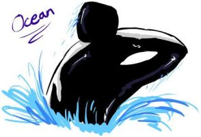 Ocean the Orca by agra19