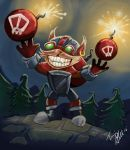 Ziggs from League of Legends by skyehopper