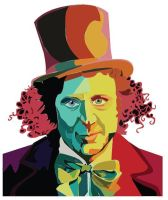 Gene Wilder as Willy Wonka by motheroftheforsaken
