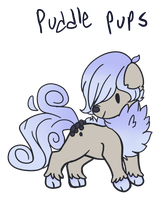 Puddle Pups Ref by WENDlGO