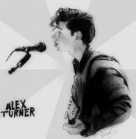 Alex Turner by ViviMaslow