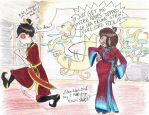Zutara Week 2015 Day 7: Maelstrom by FreedRose