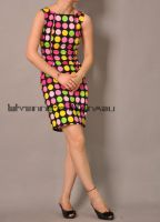 Polka Dots Sleeveless Dress 1 by yystudio