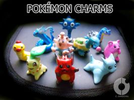 Beta Pokemon Charms I by hamsterSKULL