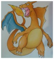 Charizard FMP Manga Summer 2013 Tournament Entry 2 by JoltKid
