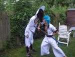 Grimmjow vs Nnoitra! by zedder09