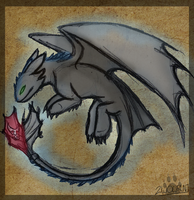 HTTYD 2 Toothless by 2wolfan