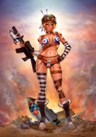 TANK GIRL FOR TRINQUETTE by RevolutionGraphics