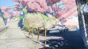 5 Centimeters Per Second 1 by TwistedDepth
