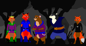 My Redwall Villains by TomTheFox