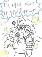 Happy B-Day Joamil by HyperLittleKitty