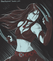 Sketchy Stuff: X-23 by Pltnm06Ghost